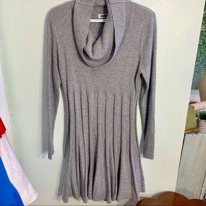 •Calvin Klein• Glitter Sweater Swing Dress